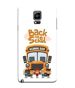 Fuson Designer Back Case Cover for Samsung Galaxy Note Edge :: Samsung Galaxy Note Edge N915Fy N915A N915T N915K/N915L/N915S N915G N915D (Lorry Logo Highway Gaadi Passenger)