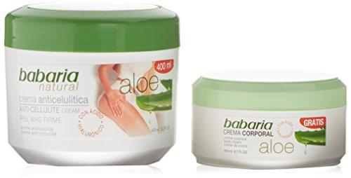 Newsbenessere.com 418S3A7hD7L Babaria Crema anti-cellulite + Crema corporale Aloe Vera - 1 Pack
