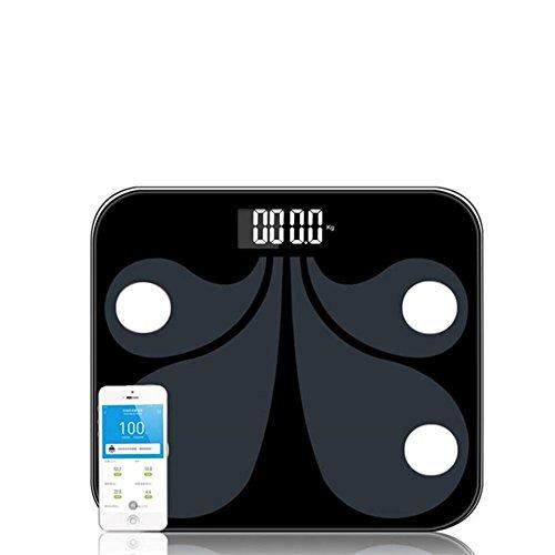 W-ONLY YOU-J Bilance da bagno digitale Bluetooth Smart Scale-Body Composition, BMI, grasso corporeo, messa a fuoco di acqua Massima multifunzione 12 Rilevazione dati Bluetooth APP (High-End Gifts)
