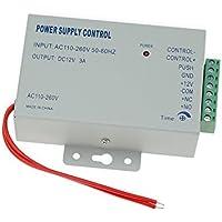acceso Control fuente de alimentación AC 110 – 240 V a DC 12 V 3 A Fuente de alimentación para puerta Control de acceso Sistema K80 en todo el mundo voltaje