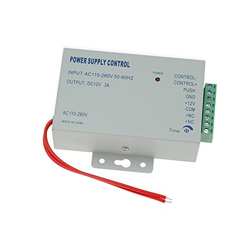 12v Ac Batterie-system (K80 DC 12V 3A Neue Tür Zugangskontrolle System Netzteil 3A / AC 110 ~ 260V)