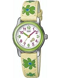 Casio LTP-1288B-7B9EF - Reloj infantil de cuarzo con correa de resina amarilla