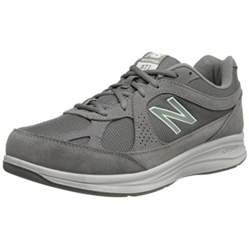 New Balance Men's MW877 Walking Shoe,Grey,11.5 4E US
