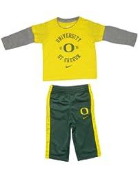 NCAA Oregon Ducks nourrisson Top Sports manches longues et pantalon Set - Jaune & Vert