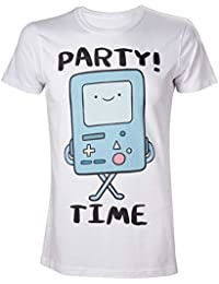 Adventure Time Men's Beemo Party Time T-Shirt