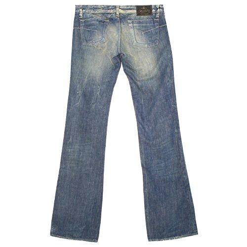 Herrlicher, Jeans, Lucky,Denim,darkblue used aged destroyed dirty [8595] darkblue used aged destroyed dirty