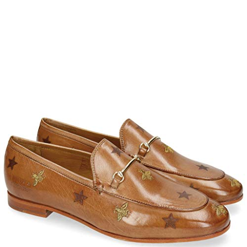 Melvin & Hamilton Scarlett 1 Make Up Lasercut Bee-39 - Horsebit-loafer