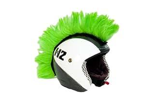 Adhésif Vert Mohican décoration de casque