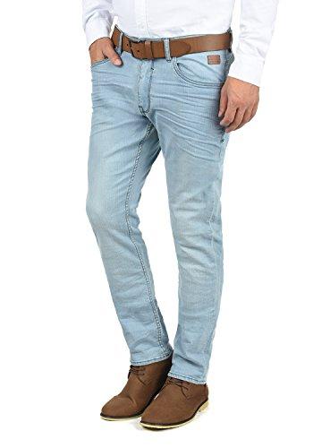 BLEND Taifun Herren Jeans 5-Pocket lange Hose Denim Slim Fit Stretch, Größe:W32/32, Farbe:Denim Lightblue (76200) (Baumwolle-5-pocket-jean)