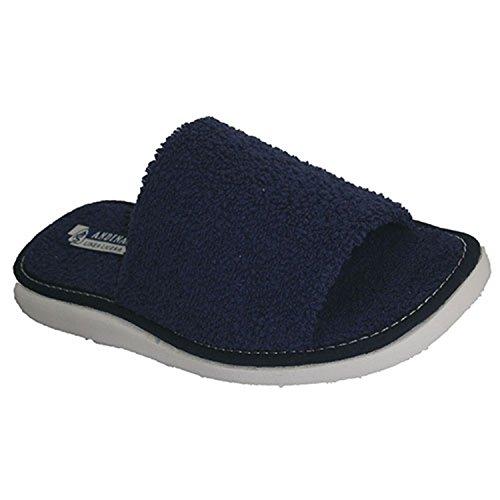 Punta aperta asciugamano perizoma asciugamano Andinas blu navy taille 35