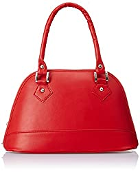 Alessia74 Women's Satchel (Red) (PBG217A)