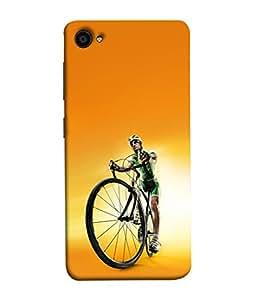 Fuson Designer Back Case Cover for Lenovo ZUK Z2 :: Lenovo Zuk Z2 Plus (Cycling Men Women Youngster Fit Healthy)