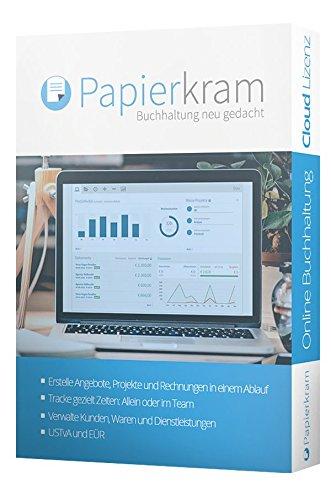 Papierkram.de 2016 - Buchhaltung neu gedacht (PRO+, 1-Jahr, Cloud)