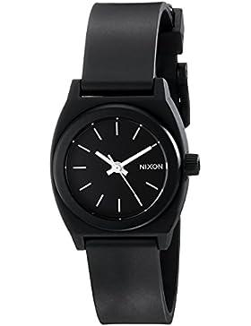 Nixon Damen-Armbanduhr XS Small Time Teller P Black Analog Quarz Plastik A425000-00