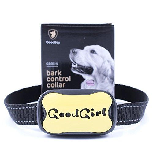 Collar Antiladridos para Perros Pequeños y Medianos de GoodBoy Collar de Adiestramiento con Descargas Progresivas y Sistema de Disuasión con Sonido para Controlar los Ladridos Excesivos de su Perro