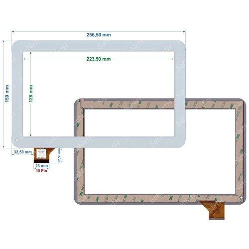 vetro tablet majestic Soneth Touch Screen Majestic Tab 411 3G Vetro Digitizer 10