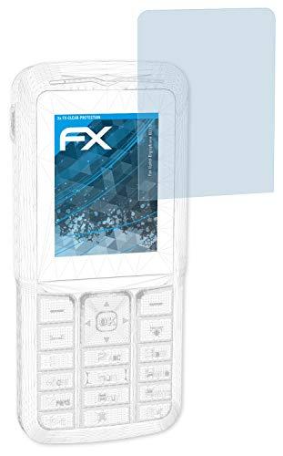 atFolix Displayschutzfolie für tiptel Ergophone 6210 Schutzfolie - 3 x FX-Clear kristallklare Folie