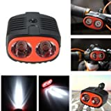 Best GENERIC Mountain Bike Lights - Generic Mountain Bike Bicycle Cycle Cycling Front Head Review