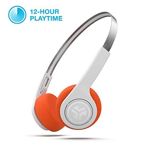 cce572ab075 JLab Audio Rewind Wireless Retro Headphones - Bluetooth 4.2 Twelve Hours  Playtime Custom EQ3 Sound Play
