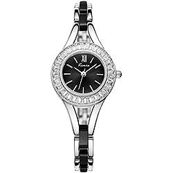 wishar Kimio Uhren Legierung Lady Quarz Uhren Fashion Einfache und elegante weiblich Dance Armband Uhren
