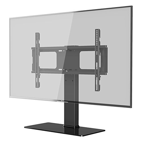 1home Pedestal Bracket Stand for LCD/LED TV Upto 32 to 60-Inch, Black