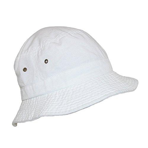 Dorfman Pacific Coton Blanc Soleil d'été excavatric Chapeau de Blanc