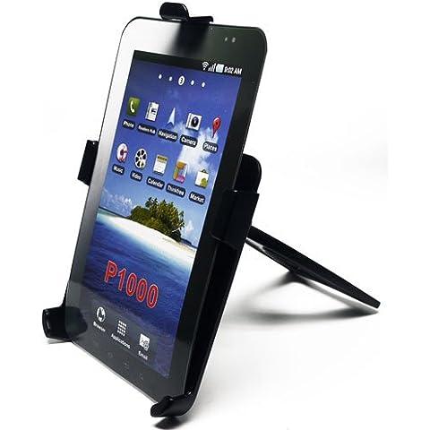 Trendline24 - table-stand da tavolo considero - con piastra per Samsung Galaxy Tab - Con morbido velluto accessori trasporto sacchetto - Tab Piastra