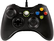 Microsoft Xbox 360 Wired Controller GamePad For PC and Xbox 360