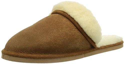 Kitz - Pichler Pala, Pantofole senza rivestimento interno Donna Marrone (Braun (0001 brown))