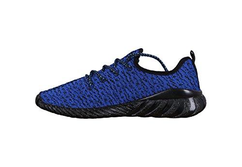 Toni Ellen , Baskets pour homme Blue (Black Sole)
