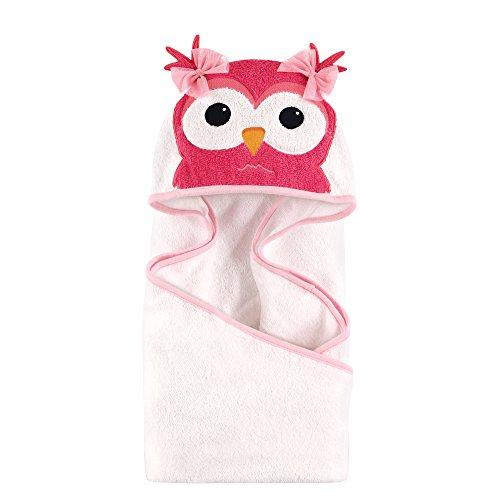 Hudson Baby Tier Gesicht Kapuzentuch (Owl Dress Up)