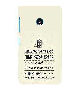 FUSON Time And Space 3D Hard Polycarbonate Designer Back Case Cover for Nokia Lumia 530 :: Nokia Lumia 530 RM 1017 :: Nokia Lumia 530 Dual SIM :: Microsoft Lumia 530 Dual