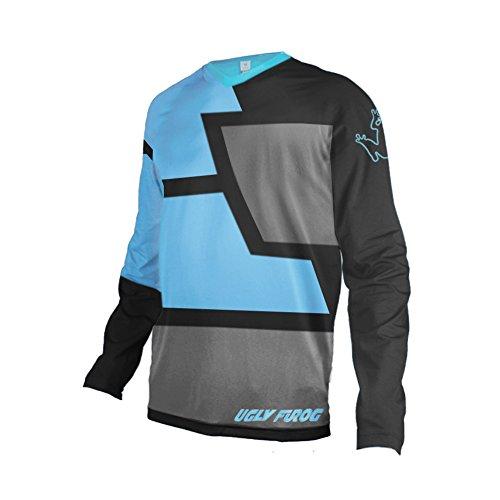 Uglyfrog Bike Wear Herren Downhill/MTB Jersey Mountain Motorrad Clothes Fahrradtrikot Langarm Freeride BMX Frühling Top -