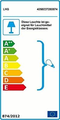 Kugelleuchte Ø 25cm zur Direktmontage | Kugellampe witterungsbeständig und kratzfest | Leuchten geeignet für Energiesparlampen E27 und LED