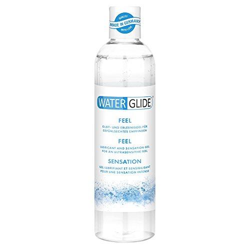 Lubricante waterglide Feel para gefühlsechtes sensación, larga gleitfreudig, 300ml