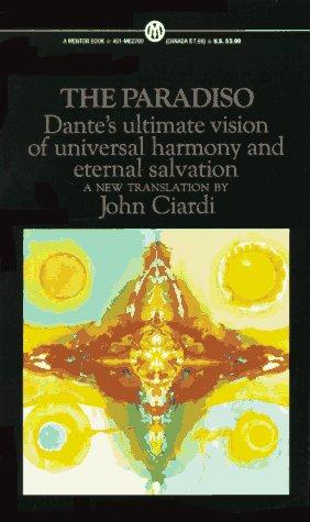 The Divine Comedy: Volume 3: The Paradiso (Paperback) The Divine Comedy: Volume 3: The Paradiso - Dante Alighieri