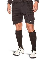 NIKE Shorts Padded Goalie No Brief - Pantalones cortos de portero para fútbol para hombre, color negro / blanco, talla 2XL