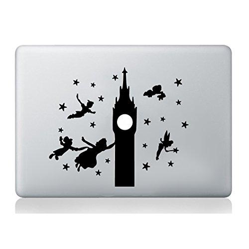 Peter Pan Big Ben Aufkleber Apple macbook Laptop Abziehbild Kunst Grafik Vinyl lustig Wandbild (Pan-bag Peter)