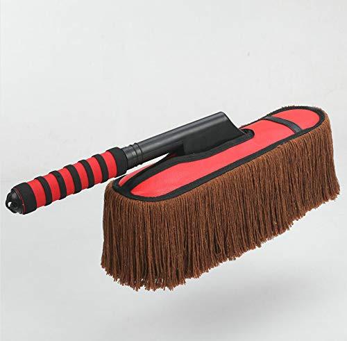 LIXIAOYUN Abnehmbare Einziehbare Autowachs Wachs Wachsbürste Baumwolle Autobürste Reinigungsbürste Autowaschmittel,A1