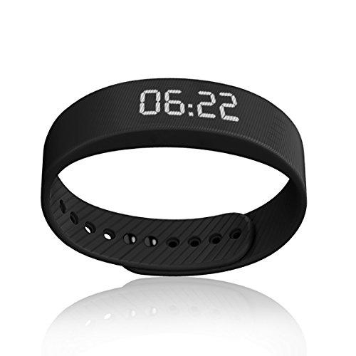 Cellay Armband Schrittzähler ohne Bluetooth Multifunktionen Armbanduhr Schrittszähler Handbandage Kalorienzähler Armbanduhr