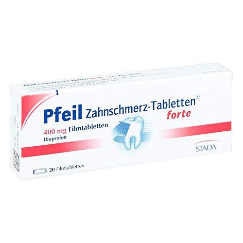 Pfeil Zahnschmerz-Tabletten forte 400mg 20 stk