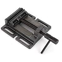 Vetrineinrete/® Morsa da banco girevole in ghisa con incudine per filettatura segatura fresatura saldatura 150 mm P22