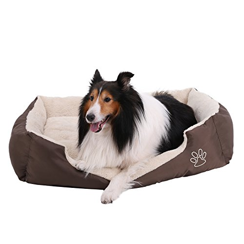 SONGMICS Cómodo Casa para Mascotas, Cama para Perros Perro De Perrito Sofa...