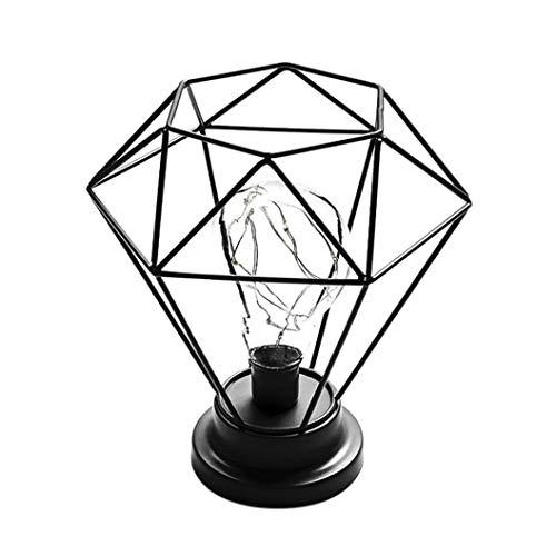 GongzhuMM Halloween Accessoires Décorative Lampe de Bureau Créative Fer Chambre Décoration Photographie Prop Lampe Éclairage de la Chambre