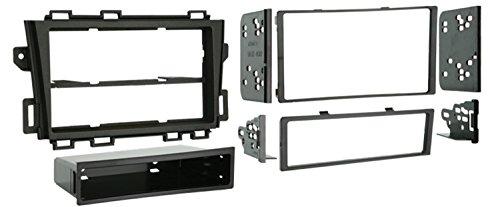 METRA Nissan Murano 2009-up Installation Dash Kit für Doppel- oder Single DIN/ISO Radios, schwarz (Murano Dash Nissan Metra Kits)