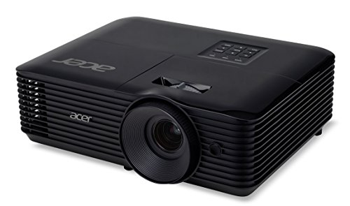 Acer Essential X118AH Ceiling-Mounted Projector 3600lúmenes ANSI DLP SVGA (800x600) Negro Video - Proyector (3600 Lúmenes ANSI, DLP, SVGA (800x600), 20000:1, 4:3, 584,2 - 7620 mm (23 - 300'))