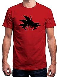 Sharq Dragon Ball Z GOKU Men's 100% Cotton Round Neck TShirt