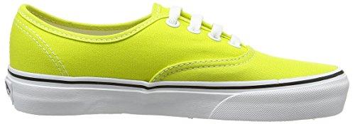 Vans Authentic, Sneakers Basses Mixte Adulte Noir (Sulphur Spring/True White)