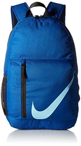 Nike Unisex-Kinder Y Nk Elmntl Bkpk Rucksack, Mehrfarbig (Gym Black/Blue), 15x24x45 centimeters