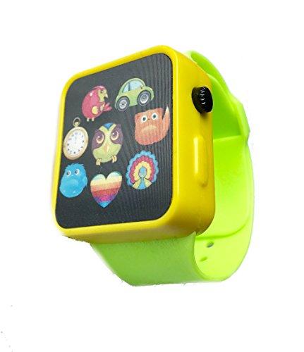 ninos-smart-watch-juego-reloj-verde-ninos-y-ninas-con-musica-hasta-5-anos